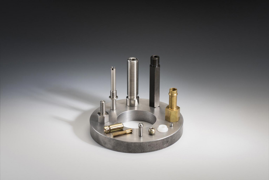 Variety of precision machined parts