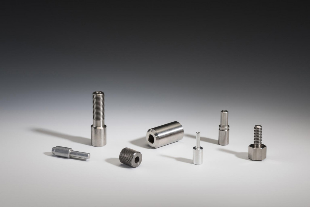 Variety of precision machined parts in different sizes