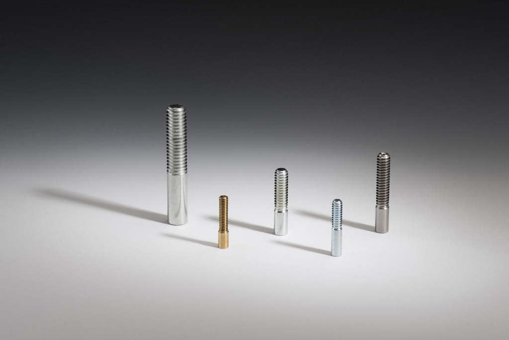 Threaded precision machined parts