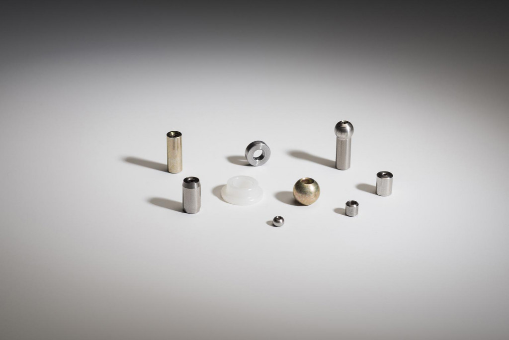 Assortment of small precision machined parts